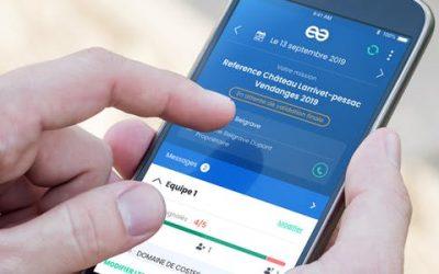 Le pointage des heures sur l'application mobile Gest'Team